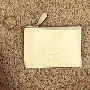 NWOT Coach for Selena Gomez keychain wallet